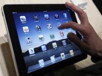 A iPad screen