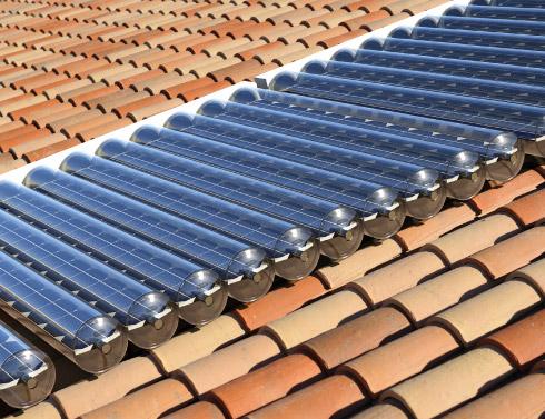 Paneles solares híbridos térmicos y fotovoltaicos (y en un tubo) 3