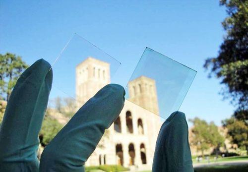 Ventanas transparentes de energía solar